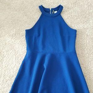 H&M Dress Royal Blue Size 10